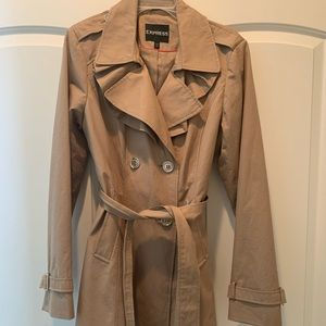 Express lightweight trench coat